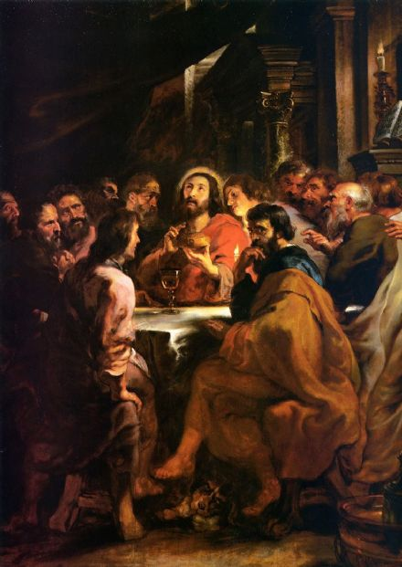 Rubens, Peter Paul: The Last Supper. Fine Art Print/Poster. Sizes: A1/A2/A3/A4 (001089)